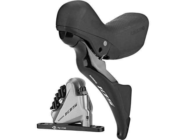 Shimano R7025/R7070 Scheibenbremse Vorderrad Links silber